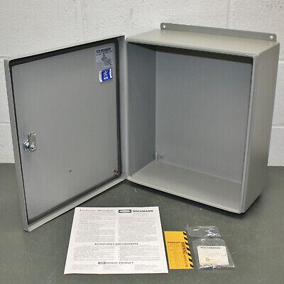Hubbell Wiegmann Steel Enclosure Bn4161406chqt 16 X 14 X 6 Nema 4x Ip66