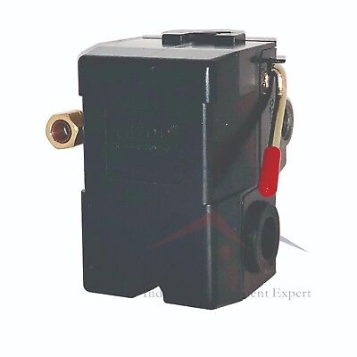 Lefoo Air Compressor Pressure Switch Control Valve 140-175psi Wunloader 4 Ports