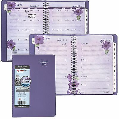 2018 At-A-Glance 938P-200 Beautifull Day Weekly Monthly Planner, 4-7/8 x 8-1/2""