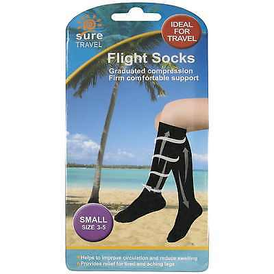Sure Travel Flight Socks Small Size 3-5