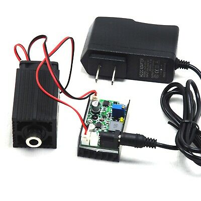 850nm 1w 1000mw Ir Focusable Dot Laser Diode Module Ttl Fan Cooling 12v Adapter