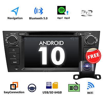 "Für BMW 3er E90 E91 E92 E93 Android 10 7""Autoradio GPS Navi DVD Touch DVR Kamera gebraucht kaufen  Versand nach Germany"