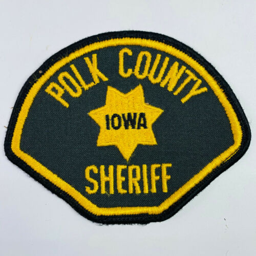 Polk County Sheriff Iowa IA Patch