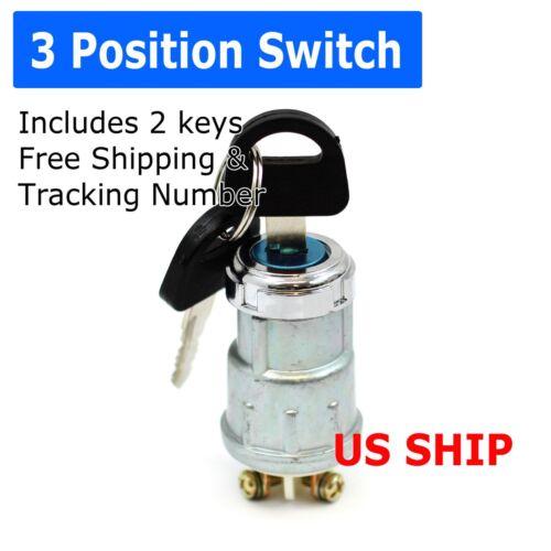 Keyed Switch ON /OFF Lock Switch Two Keys Set Mini Key Switch Car Boat Ignition