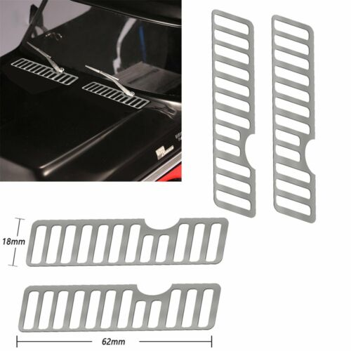 Paar Grill Kühlergrill Abdeckung Kit für DJ Traxxas TRX4 Ford Bronco Splitter