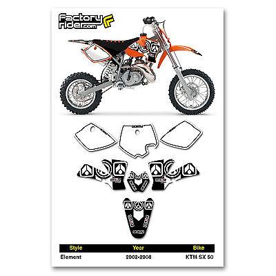 Suzuki RM 125 250 2001-2018 Dirt Bike Graphics Decal Bad Boy Racing By Enjoy Mfg