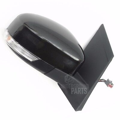 FORD FOCUS METALLIC BLACK ELECTRIC DOOR WING MIRROR RIGHT OFFSIDE DRIVERS SIDE