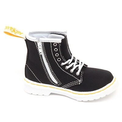 D5644 (WITHOUT BOX) anfibio bimbo tissue black DR. MARTENS shoe boot kid