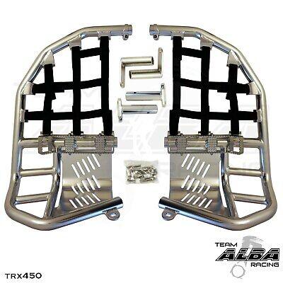 Yamaha Blaster YFS 200  Nerf Bars  Pro Peg  Alba Racing  Silver Black  212 T7 SB