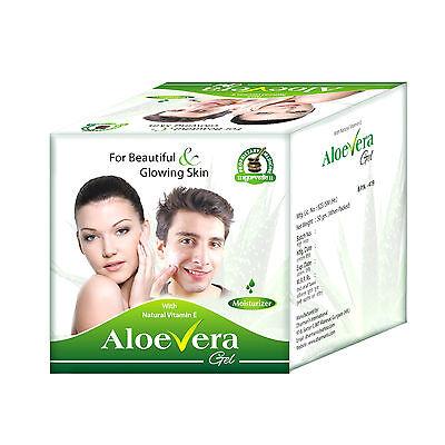 Aloe Vera Gel Best Natural Herbal Skin Care Hydration Moisturizer Cream 1.76 (Best Hydrating Body Cream)