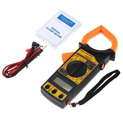 Digital Clamp Meter Multimeters Acdc Voltmeter Current Resistance Testers