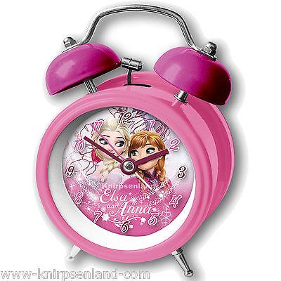 Disney Wecker Frozen Anna Elsa K Metall Kinder Kinderwecker Lernwecker Alarm
