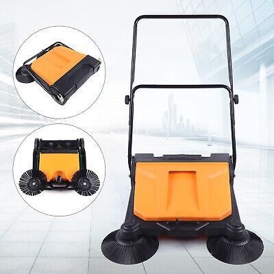 Floor Push Sweeper Floor Boards Clean Walk-behind Sweeper Cleaning Cleaner Tool