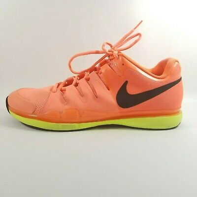info for ef5a3 63c5c Nike Federer ZOOM VAPOR Tour 9.5 Tennis Shoes 631458-600 Size 11.5