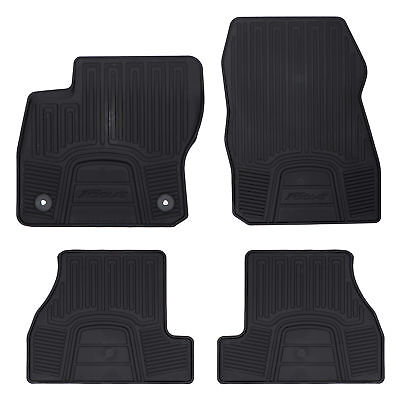 OEM NEW Front Rear All Weather Floor Mats Black Rubber 12 18 Focus DM5Z5413300AC