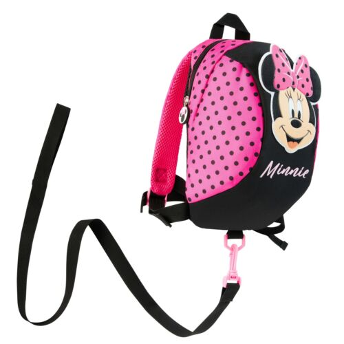 Disney MinnieMouse Backpack with Reins, Safety Reins for Toddlers