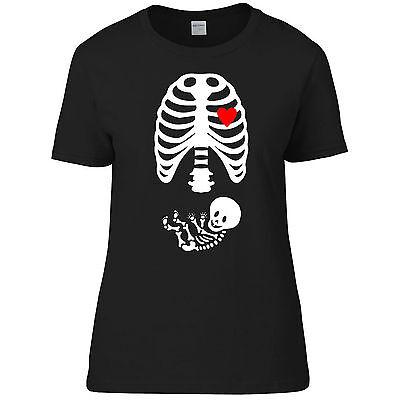 Halloween Schwangerschaft Mother Skelett Trick/Süßes Kostüm