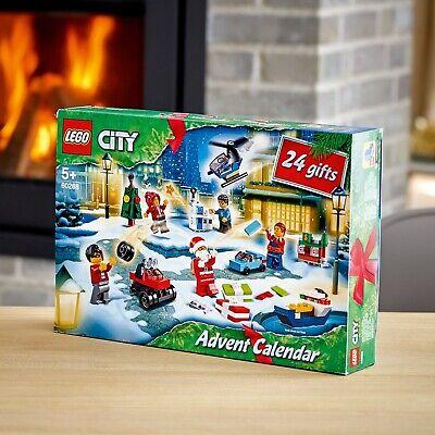 LEGO Christmas Advent Calendar MINIFIGURES 24 Gifts 2020 NEW LEGO City ship Fast