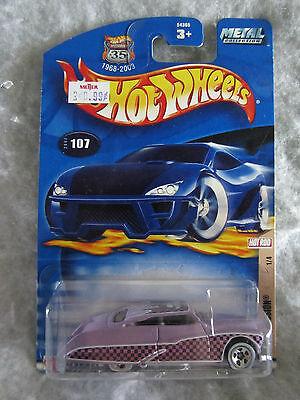 Hot Wheels 2002  Purple Passion    #107   1 / 4  1:64 scale  NOC  w-12