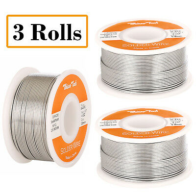 60-40 Tin Lead Rosin Core Solder Wire Soldering Sn60 Pb40 Flux .0310.8mm 12oz