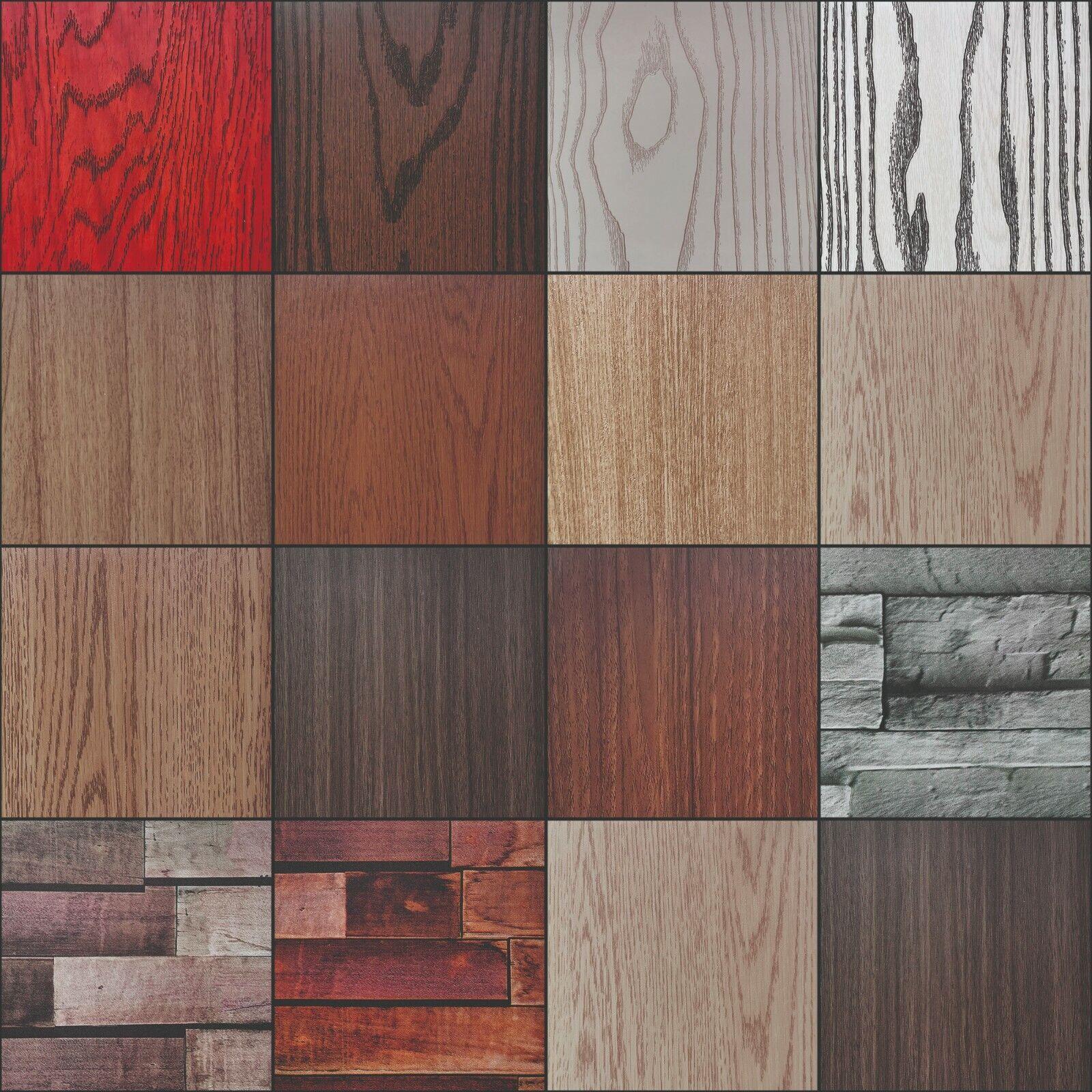 (4€/m²) Selbstklebende Folie Tapete Klebefolie Möbelfolie Holz Holzoptik