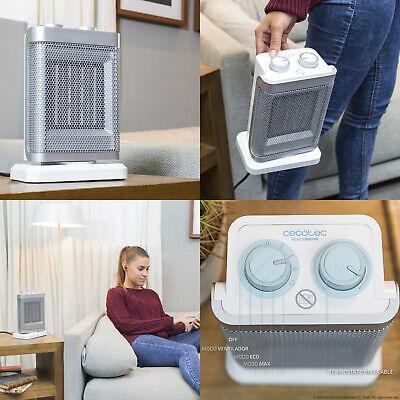 Calefactor Ceramico Electrico oscilante 90º, 1500 W, modo ECO,turbo y ventilador