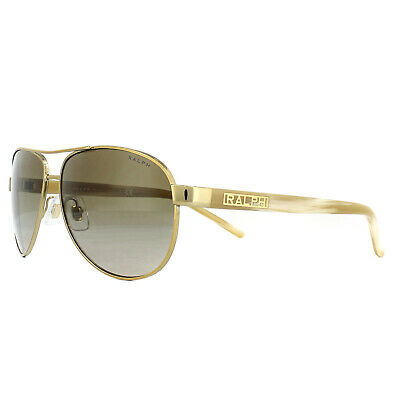 Ralph by Ralph Lauren Sunglasses 4004 101/13 Gold Cream Brown Gradient