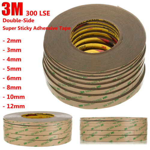 3M 300LSE 12mm*55M Double Side SUPER STICKY ADHESIVE TAPE For Cell Phone Repair