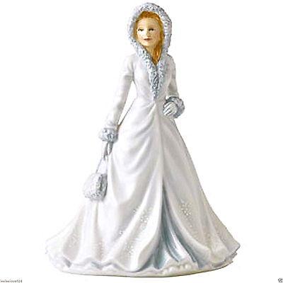 "Royal Doulton PRETTY LADIES ""WHITE CHRISTMAS""  Songs of Christmas Series NEW on Rummage"