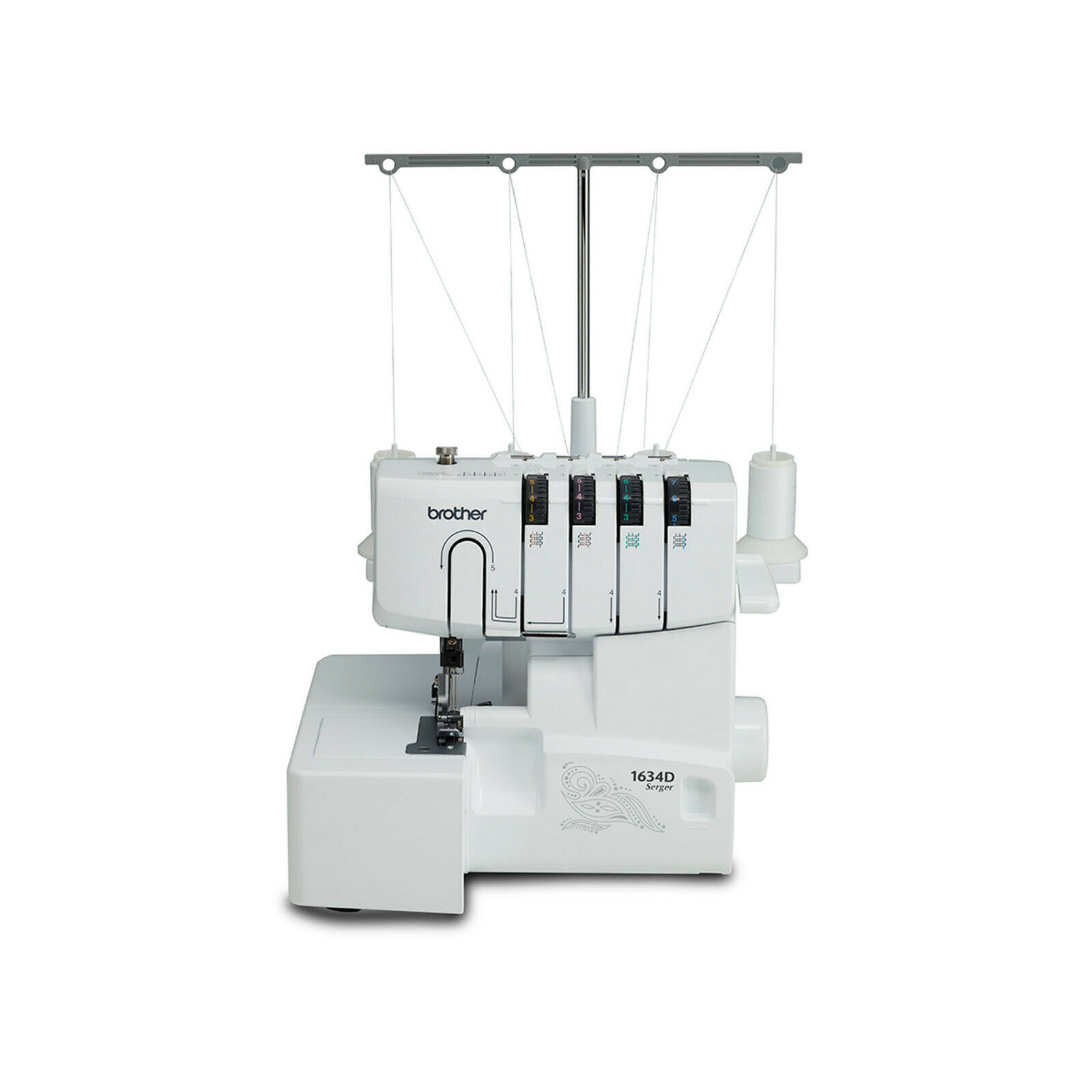 Brother 1634D 3 or 4 Thread Serger Differential Feed Soft Co