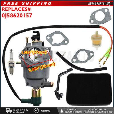 Carburetor Carb For Apache Power Agg8800e 6500 8000 Watt 414cc 15hp Generator