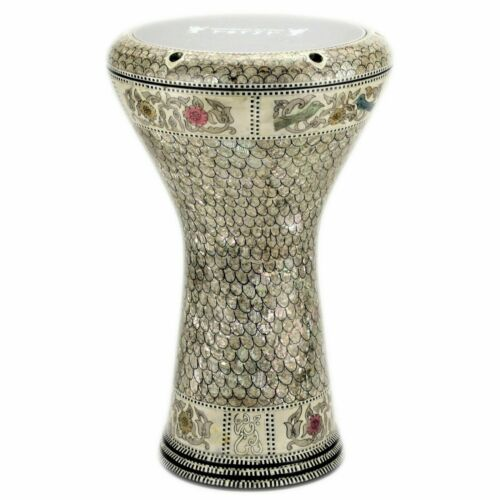 M21 Drum Darbuka tabla doumbek mother of pearl Gawharet El Fan free bag 17 inch