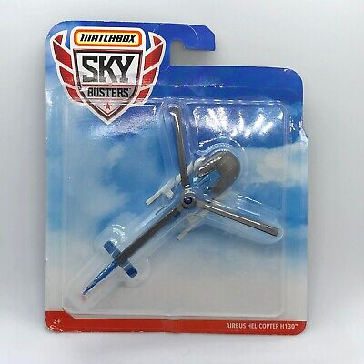 2019 Matchbox Sky busters Airbus Helicopter H130 Blue