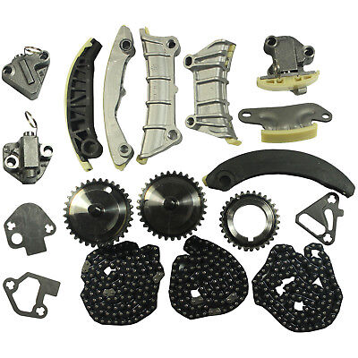 Timing Chain Kit With Gears For 2007-2014 2015 GMC Chevy Chevrolet 3.0L 3.6L V6