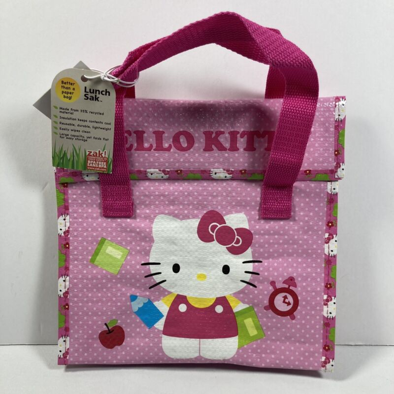 2014 Zak! Sanrio Hello Kitty Lunch Sak Bag