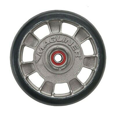 Hand Truck Wheel Mold-on Rubber With Sealed Semi-precision Bearings