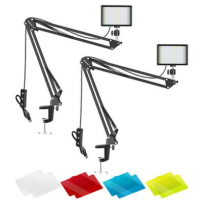 Neewer Video Conference Lighting Kit for Zoom Call Meeting/Remote Working