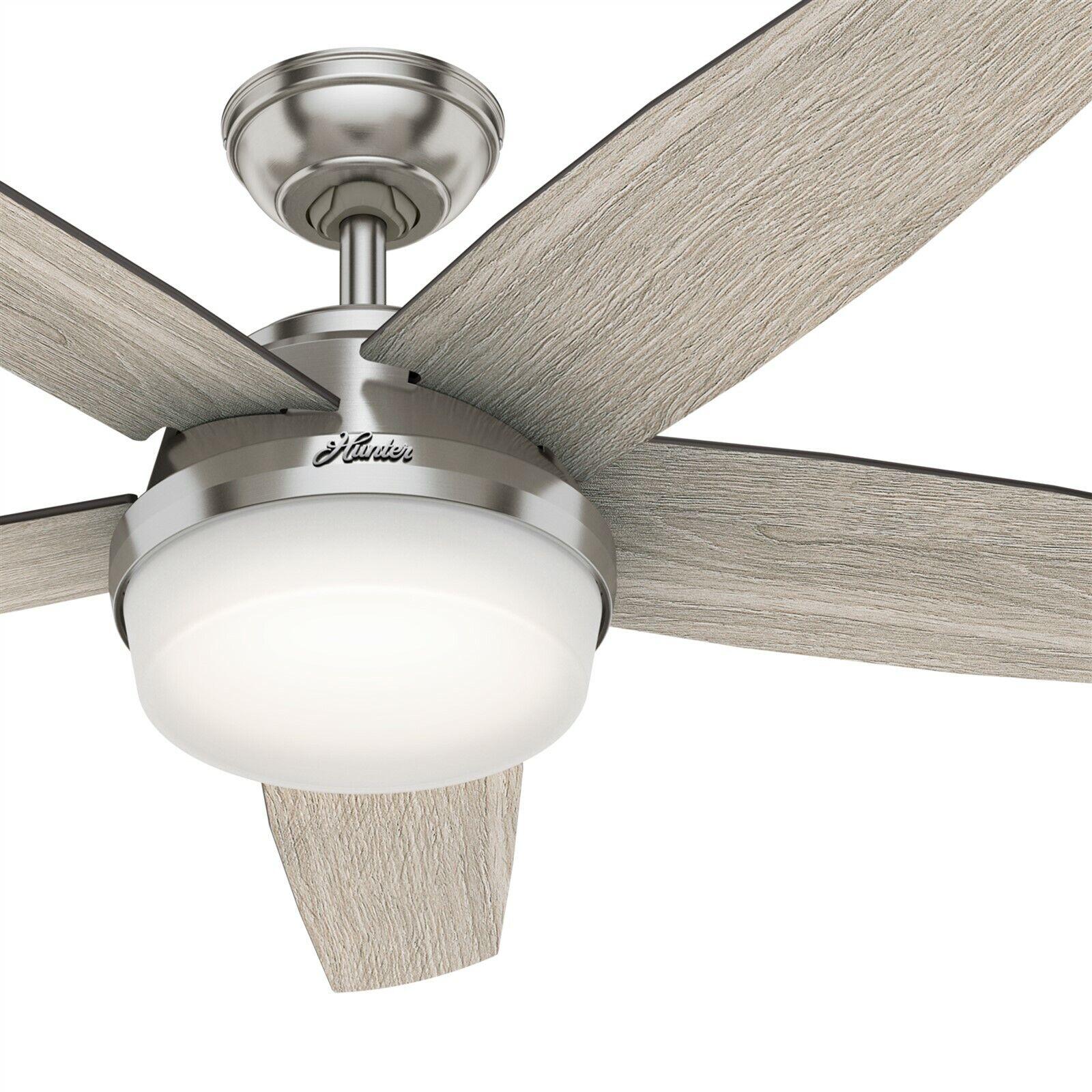 Hi Wind 52 In Indoor Brushed Nickel Ceiling Fan