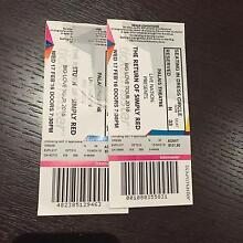 Simply Red Tickets x 2 Melb Armadale Stonnington Area Preview