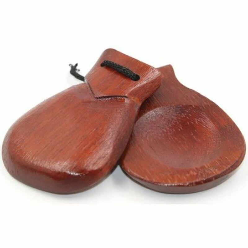 GP Percussion GPWC8 Wood Finger Castanet Set