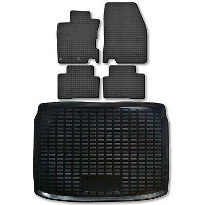 Kofferraum Wanne Schale Matte für Nissan Qashqai II 2 J11 2014 tief