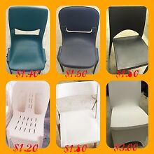 Cheapest chair hire Melbourne $1.40 a chair $8.50 a table Clayton Monash Area Preview