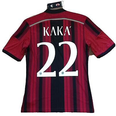2014/15 AC Milan Home Jersey #22 KAKA Small Adidas Football Soccer ROSSONERI NEW image