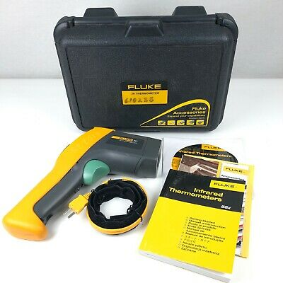 Fluke 561 Hvac Pro Infrared Thermometer -40 To 1022 Degree F Range W Usb Cable