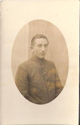 Foto AK 1. Weltkrieg Soldat - Hannover ?
