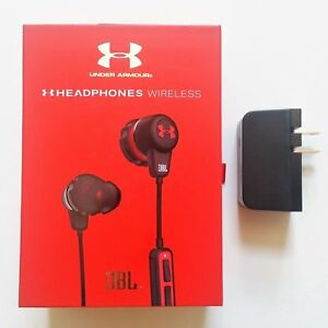 ba81873bf1e JBL Under Armour Wireless Bluetooth Headphones Earbuds Sweat Proof ...