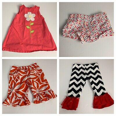 Girls Infants Clothes Lot Size 12M - 18M Dress Shorts Bottoms Gymboree Nautica