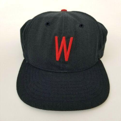 Vintage 80s Mens 73/8 Baseball Cap Hat Washington Nationals Throwback MLB Roman