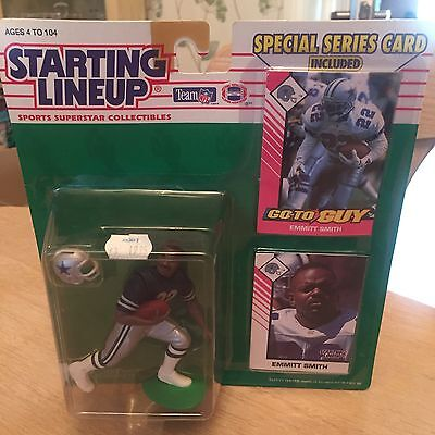 Emmit Smith Dallas Cowboys Starting Lineup NFL Figure