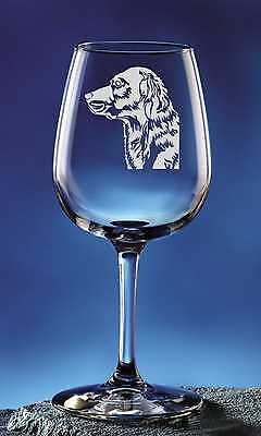 Personalized Golden Retriever Three Pet Dog Etched Wine Glass 12.75oz